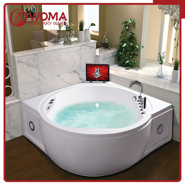 Jacuzzi Whirlpool Bath Jacuzzi.Hot Item Woma Manufacturer Hot Round And Corner Jacuzzi Whirlpool Bathtub Q421