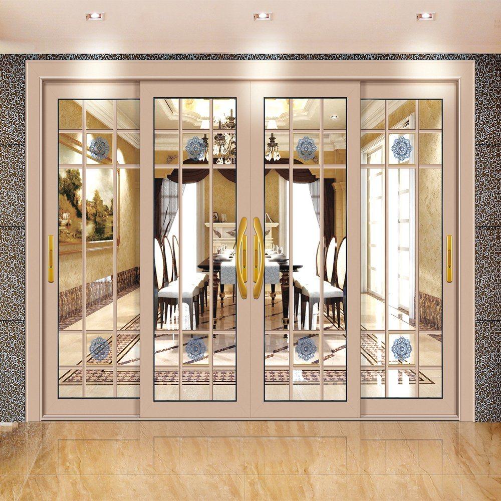 Aluminum Glass Door Sliding, Living Room Sliding Doors Interior