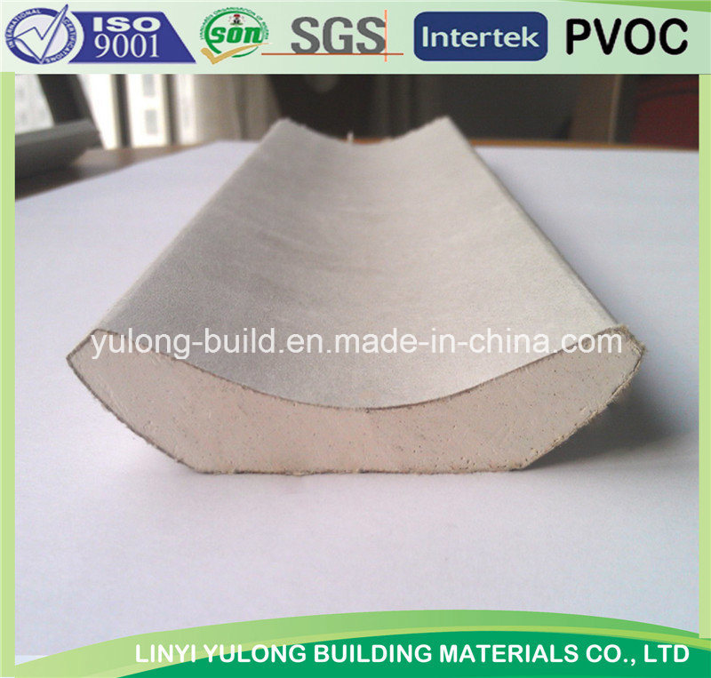 High Quality Paper Faced Gypsum Cornice