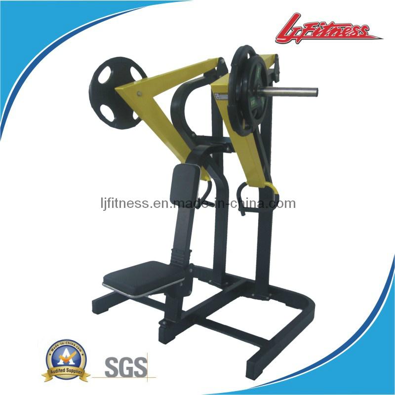Hammer Strength Low Row Machine - Titanium Hammered Ring