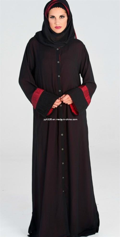 China Elegant Ic Clothing Muslim Hijab Dress Jilbab Burqa Whole Dubai Abaya