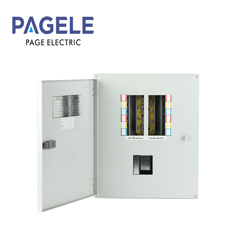 China Tpn Three Phase Distribution Board dB Fuse Box Consumer Enclosure -  China Distribution Cabinet, 3 Phase BoxYueqing Page Electrical Co., Ltd.
