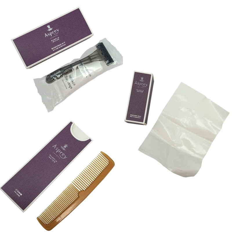 Luxury Five Star Noble London Euro Hotel Amenities Set Supply