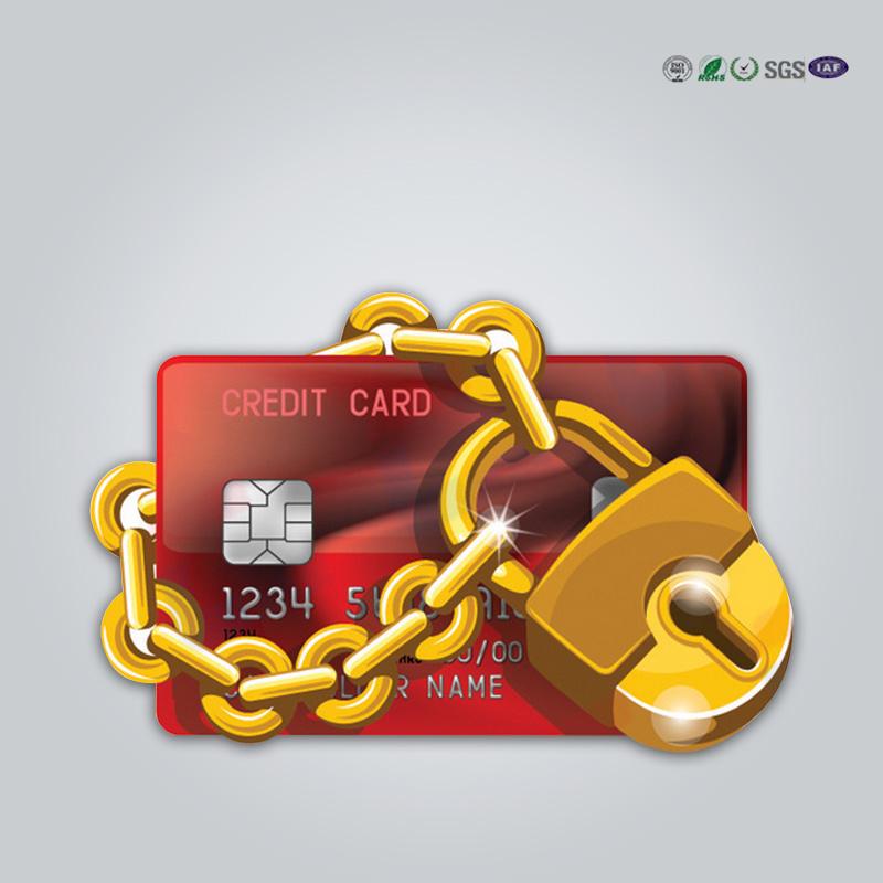 [Hot Item] Customized Hot Sale Credit Card / Passport Data Protection RFID  Blocking Card