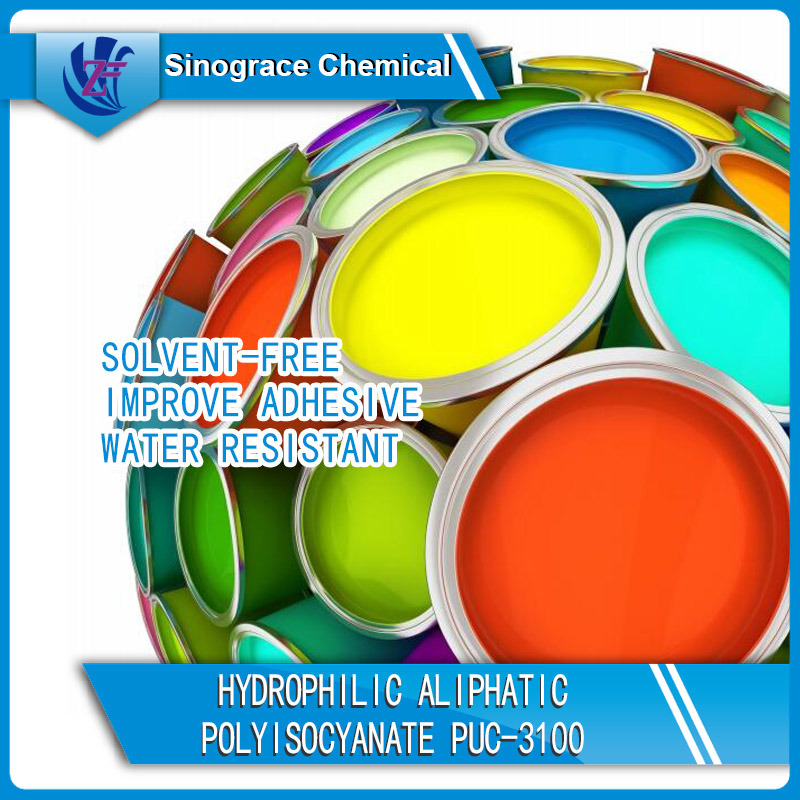 Hydrophilic Solvent-Free Crosslinking Agent
