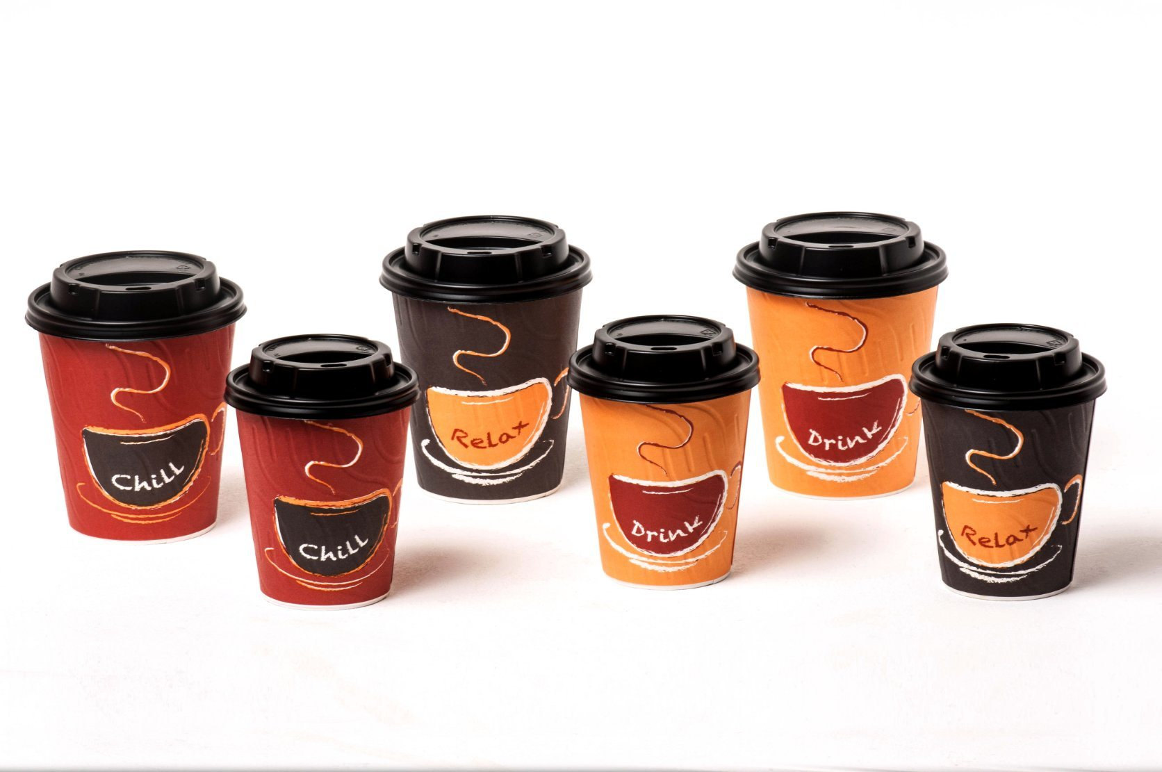 Disposable Logo Printing Paper Cups