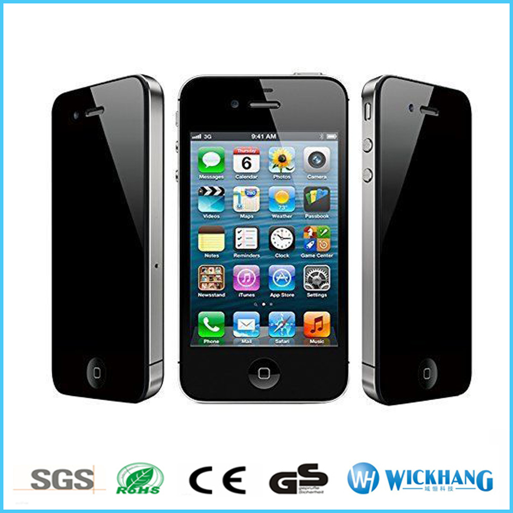 China Privacy Anti-Spy Tempered Glass Screen Protector for Apple iPhone 4 4s  - China Glass Screen Protector 14f365dbb6