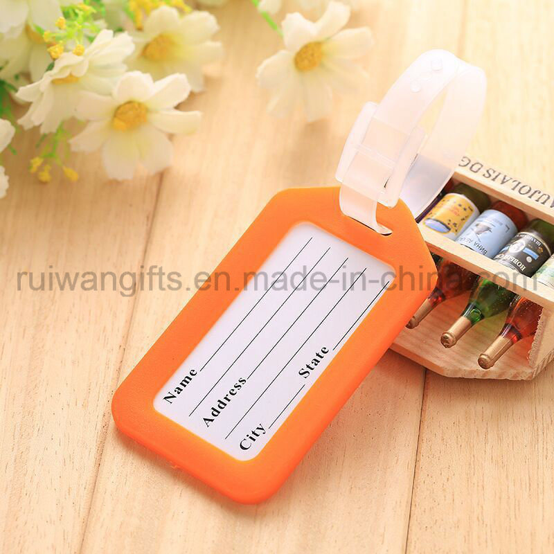 Colorful Travel Luggage Tag PVC ID Tag