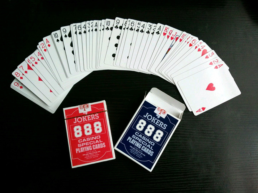 China Casino Club Special Poker Playing Cards 888 China Playing Cards And Poker Price