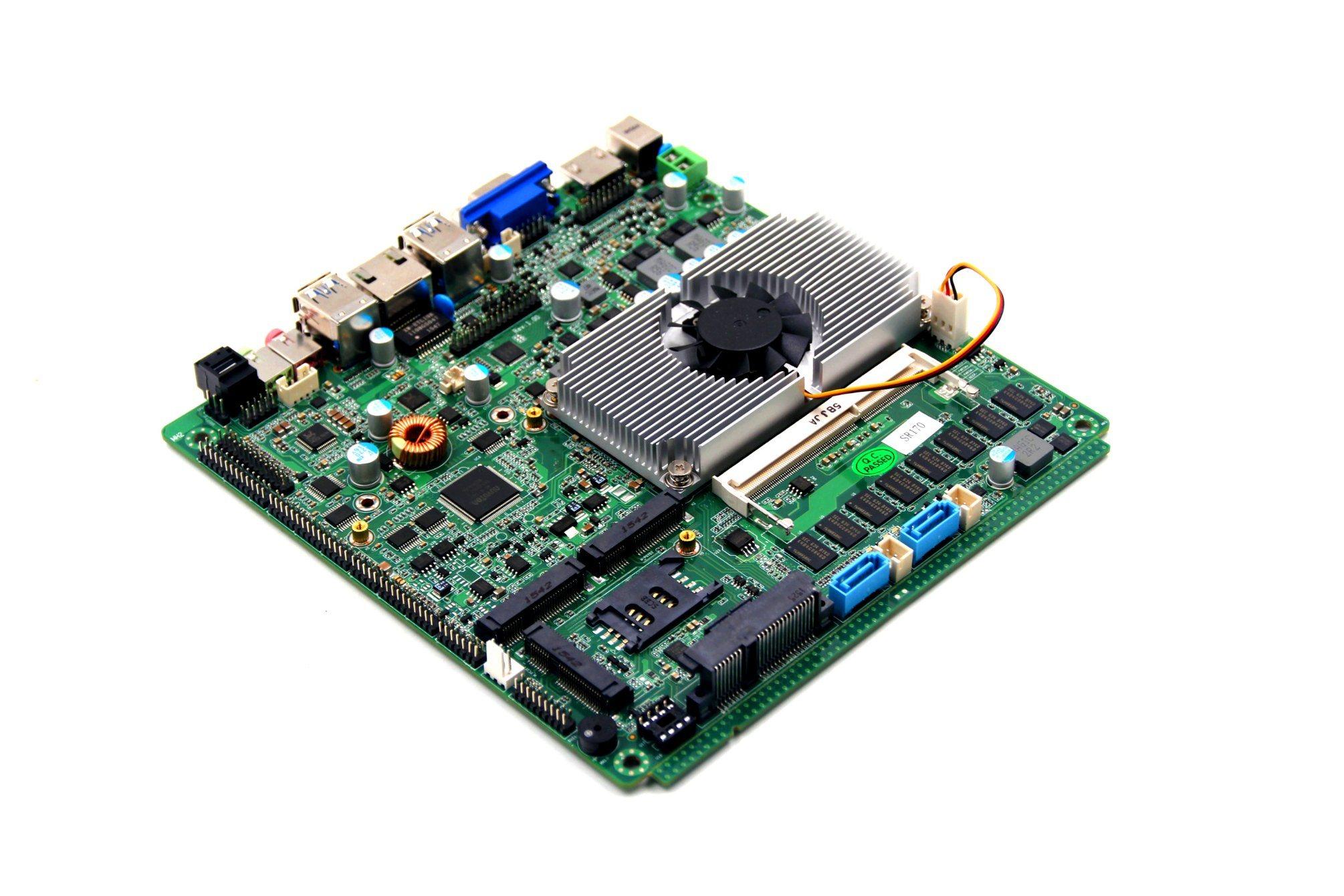 China Haswell Top80b Bga1168 Intel Core I3 I5 I7 Cpu Mini Motherboard H61 Suport Lga 1155 Itx For Aio Pc Oem