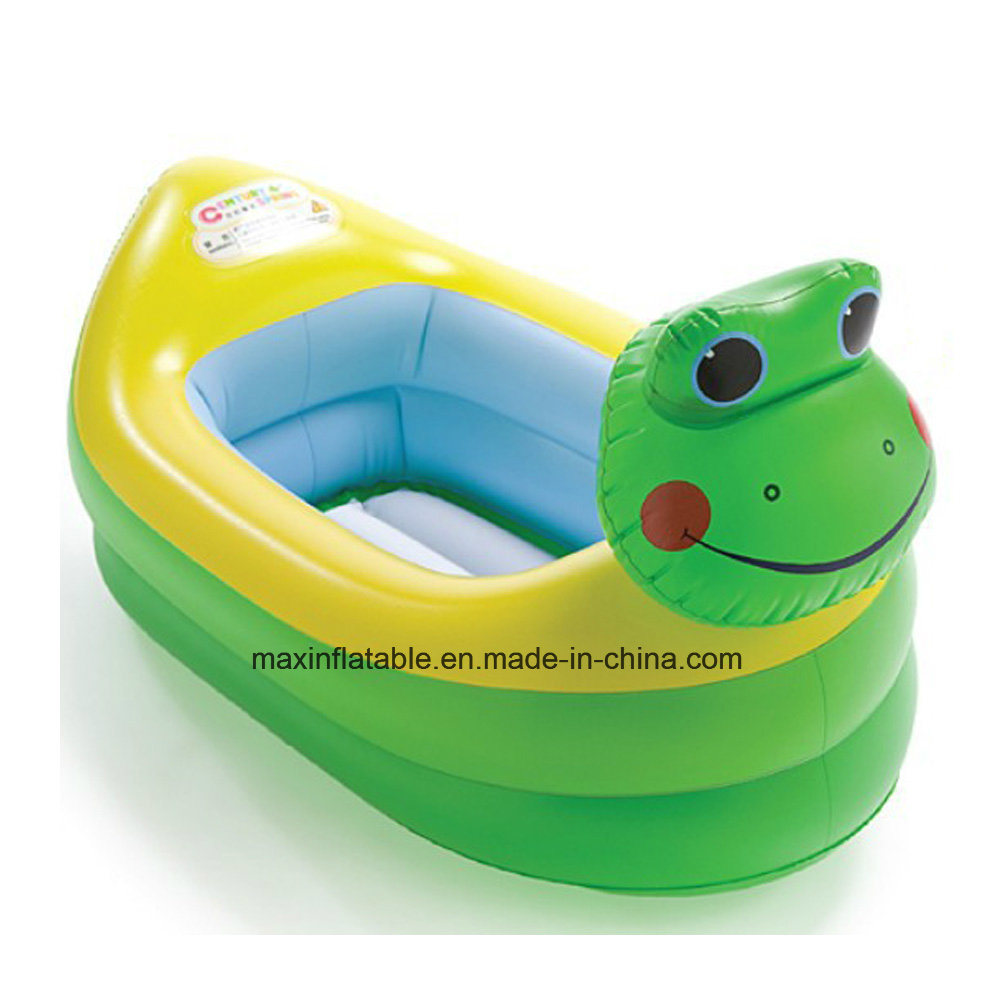 PVC Inflatable Small Yellow Duck Bathtub pictures & photos