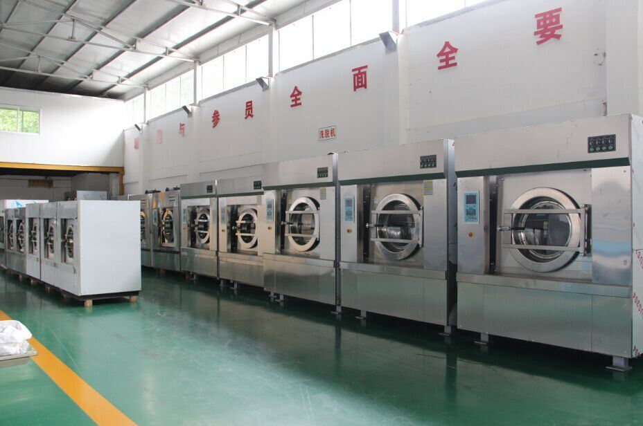 CE Approved Fully Automatic Stainless Steel Hotel Washing Machine (XGQ-30F)