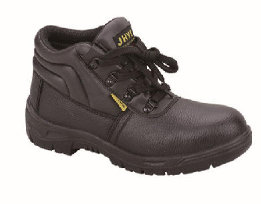 Safety Work Protection Leather Footwear with Steel Toe pictures & photos