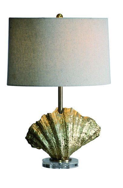 Resin & Metal & Crystal Table Lamp for Indoor