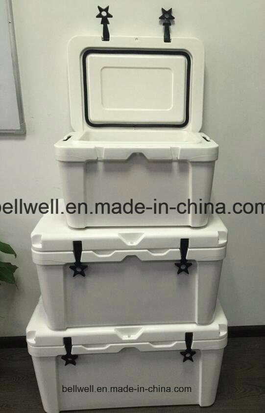 25L, 45L, 65L Echo-Friendly Cooler Box Rotational Molding Cooler Box
