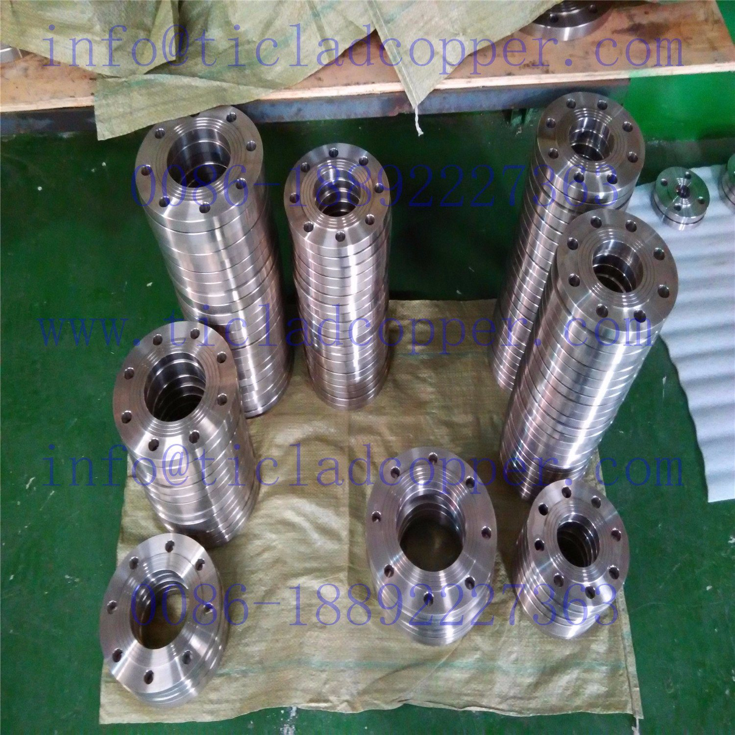 ASME Titanium Flange pictures & photos