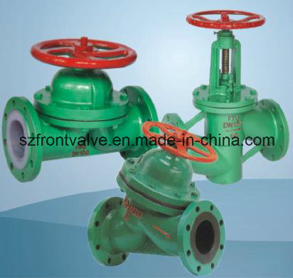 Cast Steel Flanged End Diaphragm Valve