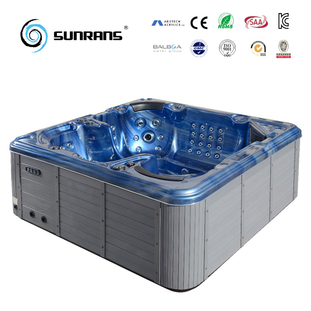 China 2017 Hot Sale 5 Person Outdoor Hot Tub SPA for Balboa and ...