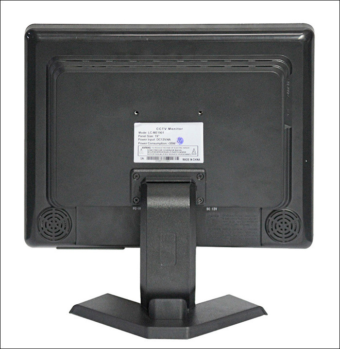 17 Inch BNC LCD/LED Monitor for CCTV, Security Application