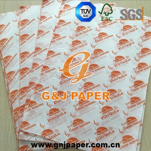 [Hot Item] Great Quality OEM Custom Logo Printing Sandwich Paper Wholesale