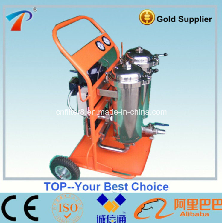 Easy Operation Skid Mounted Portable Oil Purifying Unit (JL-100)
