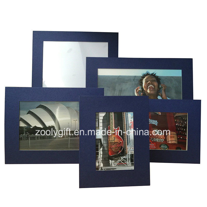China Blue Textured Art Paper Photo Frame Assorted Color Art Paper ...