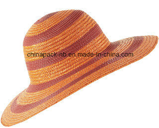 b8deaec3 China Wheat Straw Sun Hats (CPA_90002) - China Wide Brim Beach Hats ...