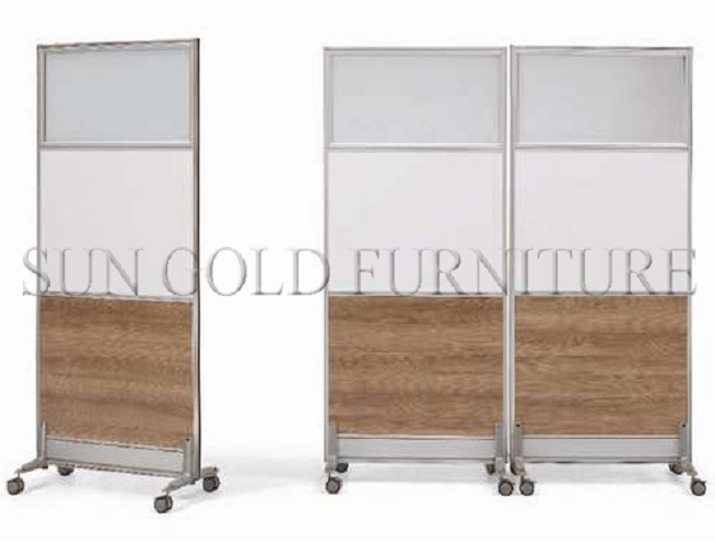 Office Furniture Wood Foldable Fabric Partition Wall Movable Partition  (SZ WST700)
