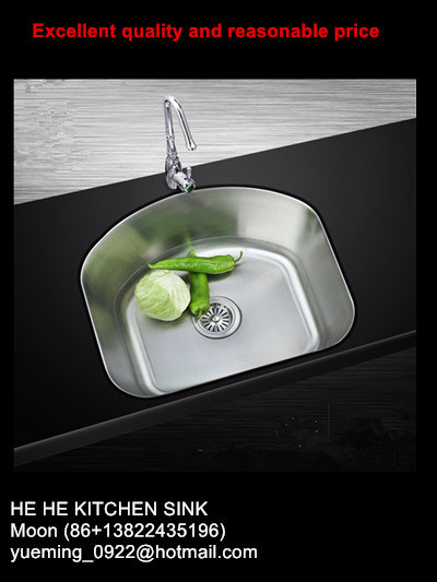 304 Stainless Steel Undermount Single Sink for Kitchen with Cupc Certificate pictures & photos