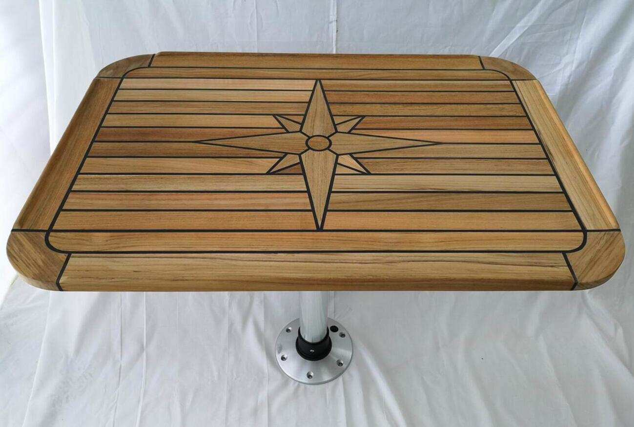 China Marine Boat RV Motorhome Teak Decking Table Top ...