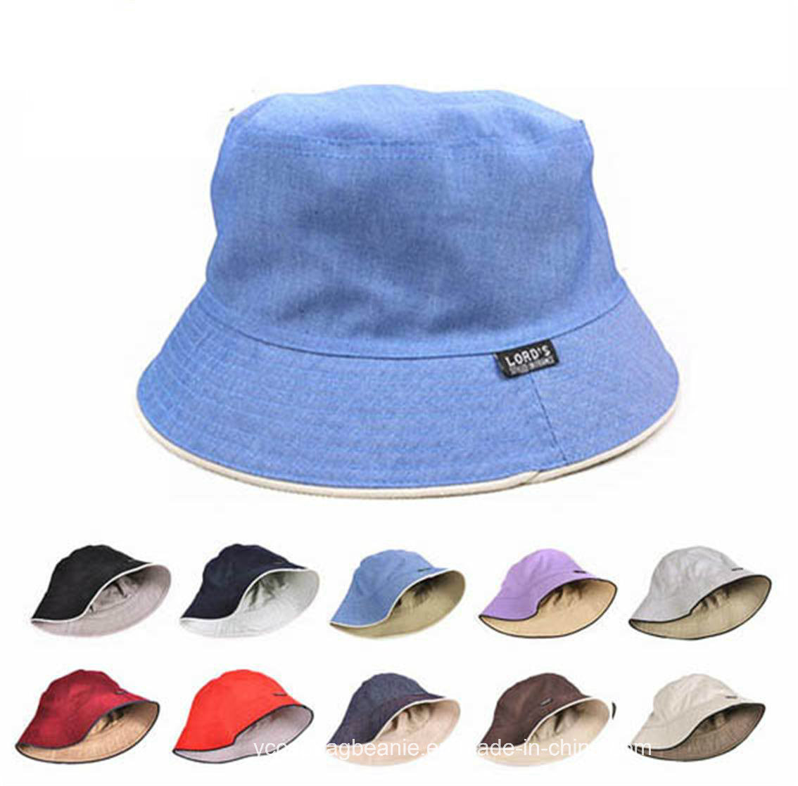 5df492dd534e3 China Cotton Multi Colors Plain Blank Cheap Promotion Custom Bucket Hats -  China Hat, Bucket Hat