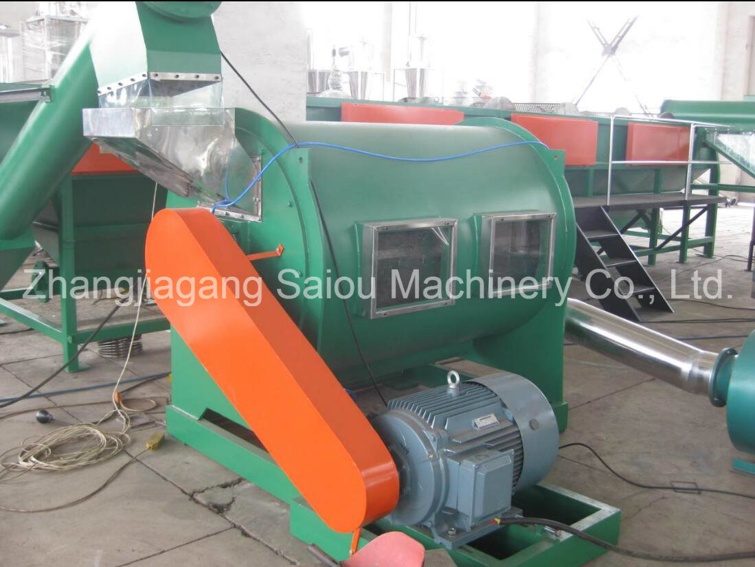 Milk Bottle Flake HDPE Washing Equipment