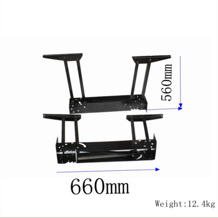 China Adjustable Height Desk Hardware Table Top Mechanism - Adjustable height table mechanism