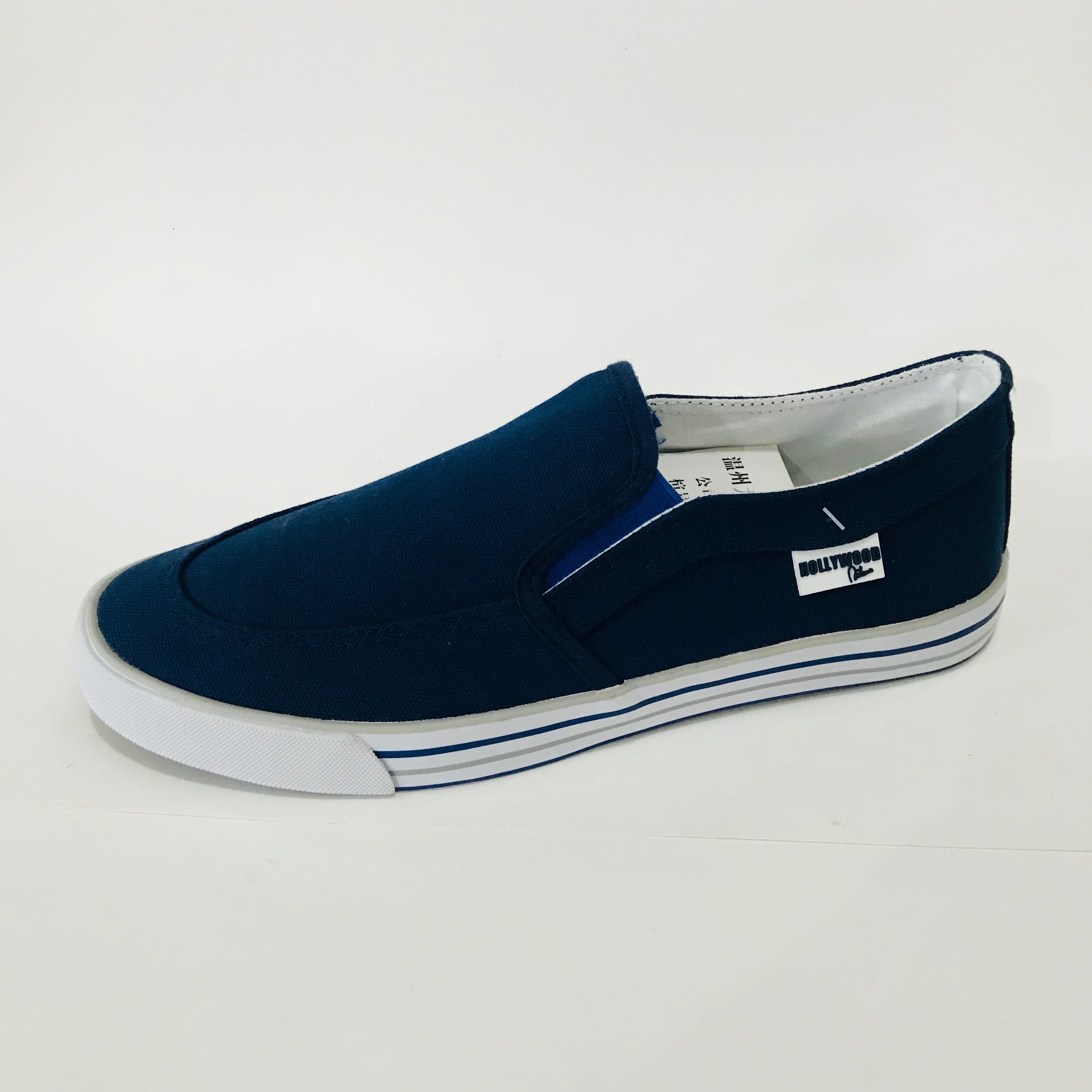 Lightweight Casual Men′s Canvas Shoes
