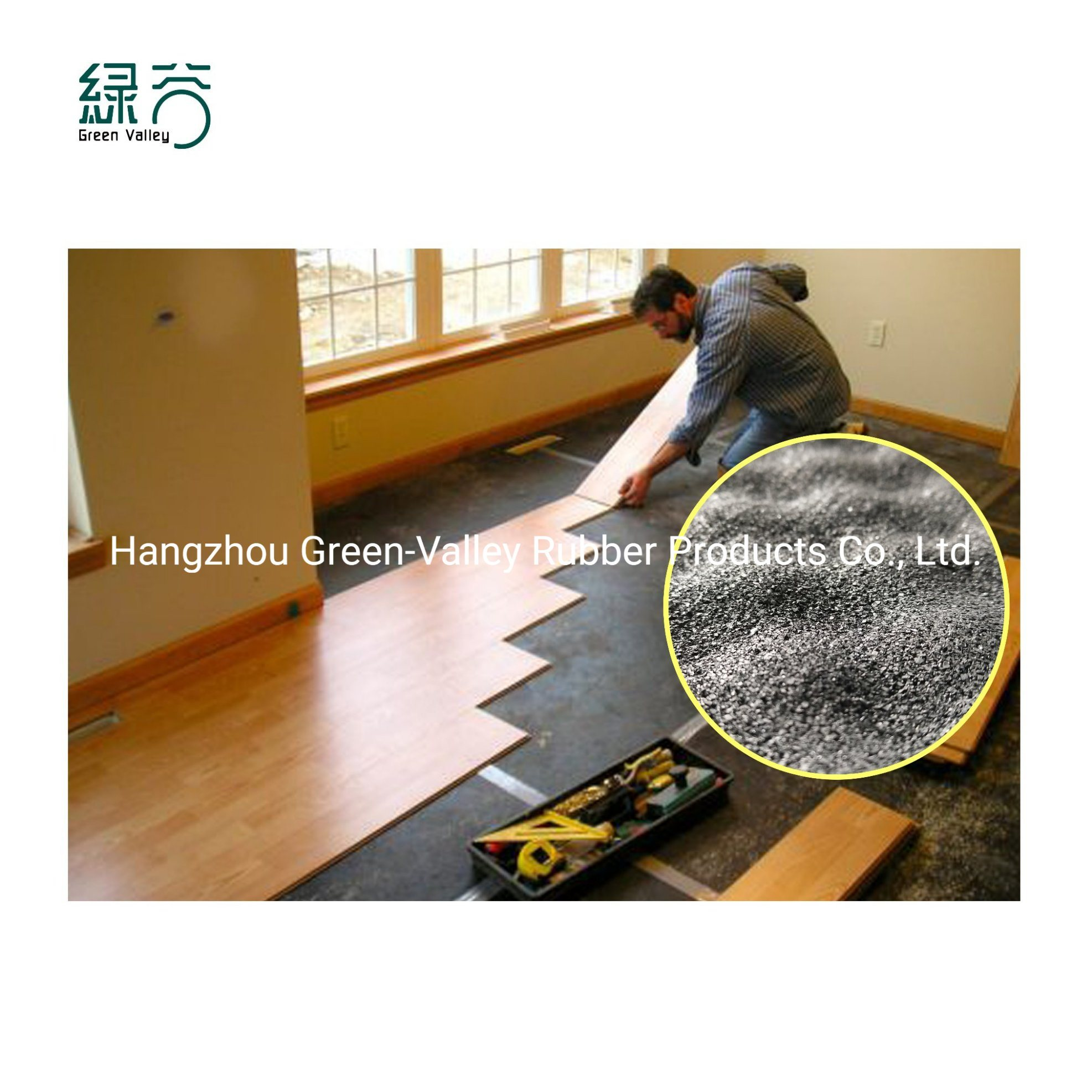 China High Quality Soundproof Laminated, Soundproof Underlay For Laminate Flooring