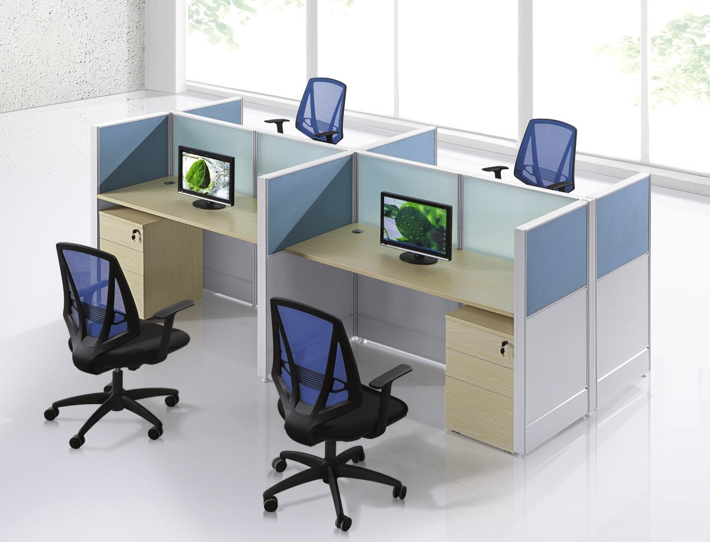 [Hot Item] Workstation Office Partition Office Table Computer Table  Employee Table Staff Desk Modern Office Furniture
