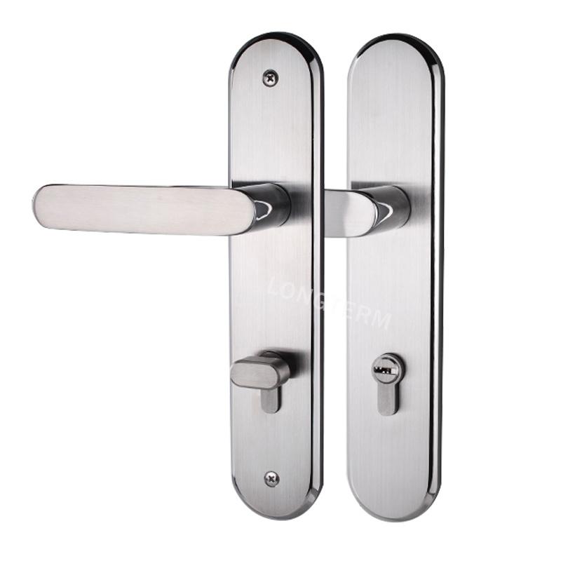 China Door Security Hardware Replacement Bathroom Door Handle Lock