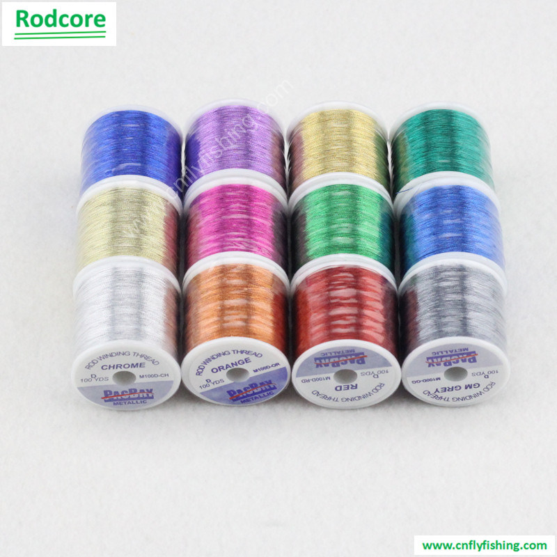 Fly Rod Wrapping Thread Fishing Rod Metallic Thread pictures & photos