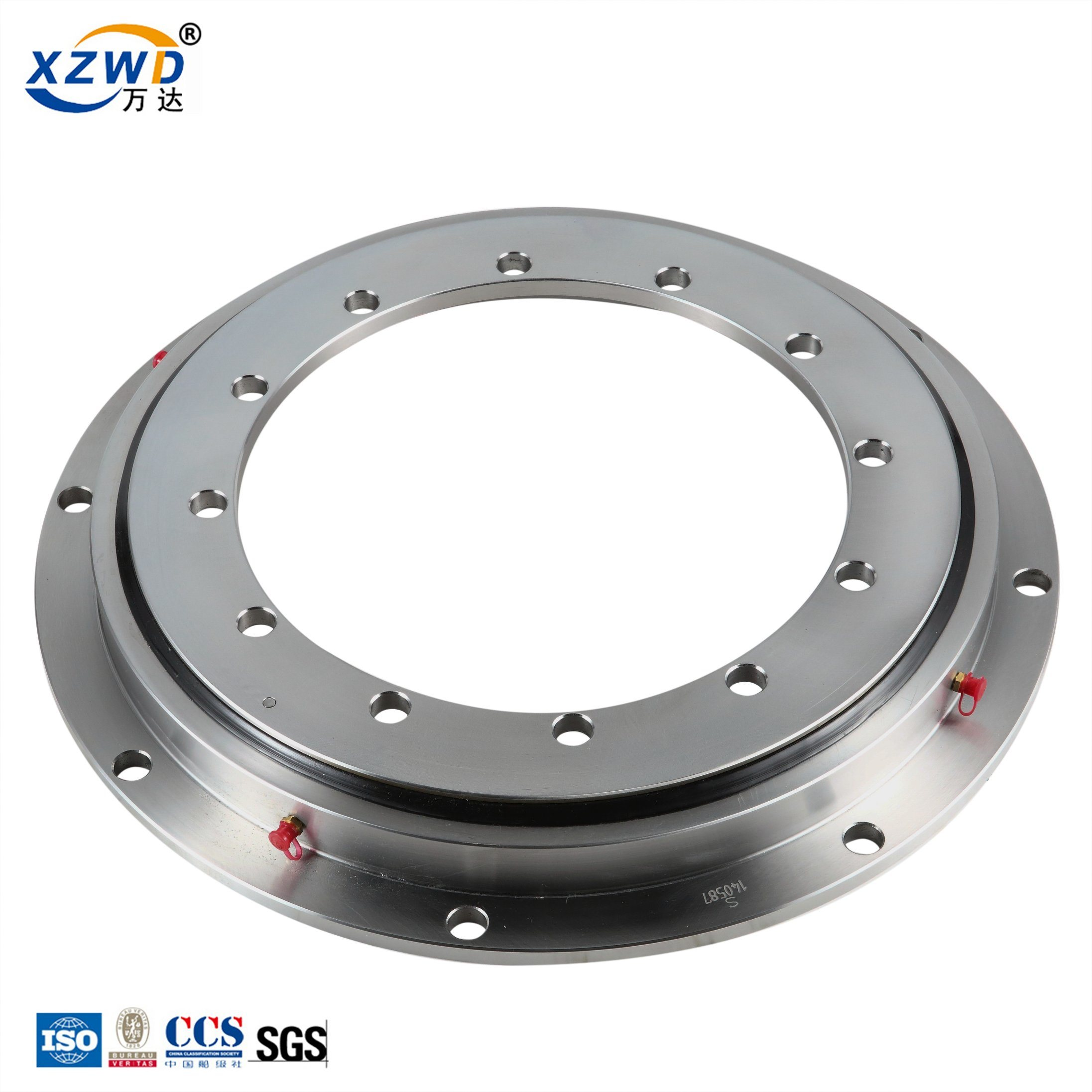 [Hot Item] Slewing Bearing Leveling Machine Outer Gear with Internal Flange