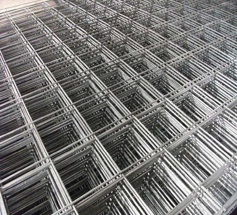 China Rib Bar 6X6 Concrete Welded Wire Reinforcing Mesh for Building ...