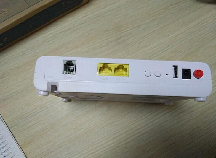 [Hot Item] (ZTE F612) Fiber Network Gpon Ont 2LAN+1voice Gpon ONU