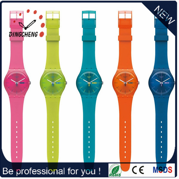 Cheap Promotional Gift Fashion Ladies Silicone Watch (DC-1203) pictures & photos
