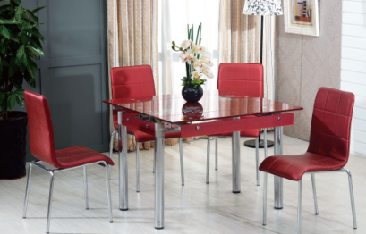 China Modern Dining Table Dining Room Furniture Glass Dining Table China Glass Dining Table Dining Table