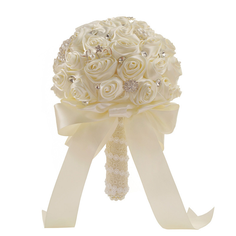 China Wedding Bridal Bouquet Artificial Flowers For Wedding Birthday Party Decorations Photos Pictures Made In China Com
