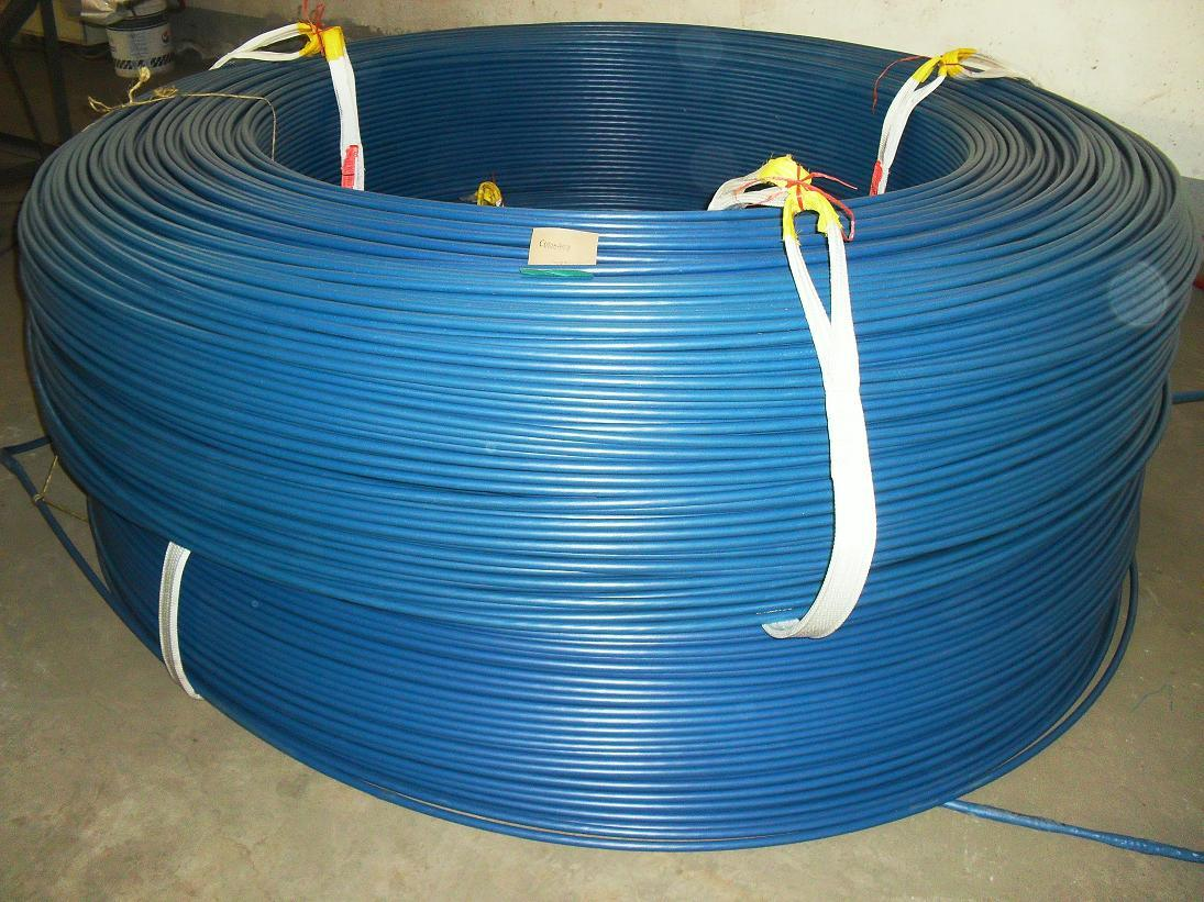 China Post-Tensioned Concrete Greased and PE Sheathed Cable Wire 1X7 ...