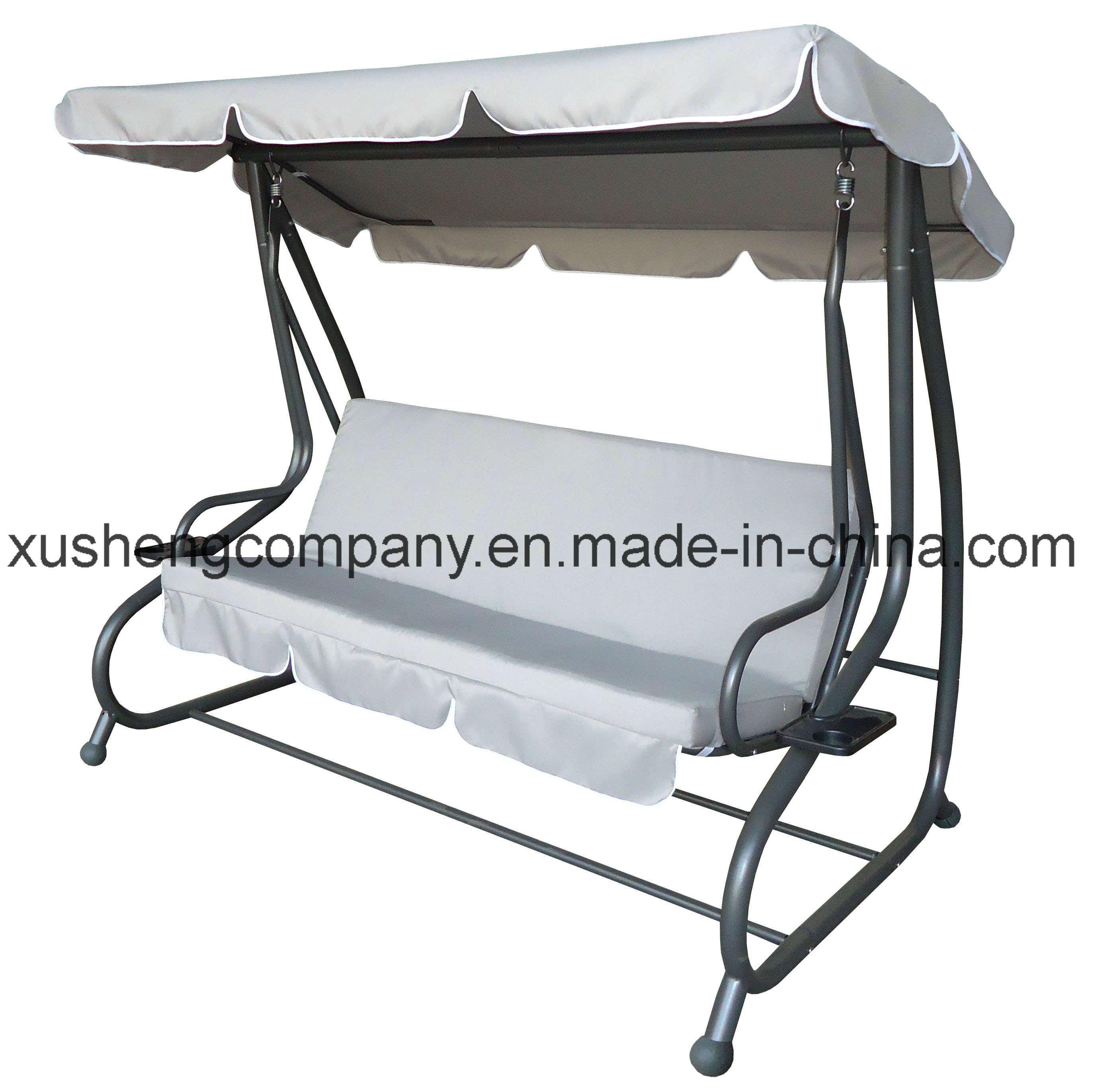 China Steel Hanging Metal Frame Garden Swing Chair China Garden