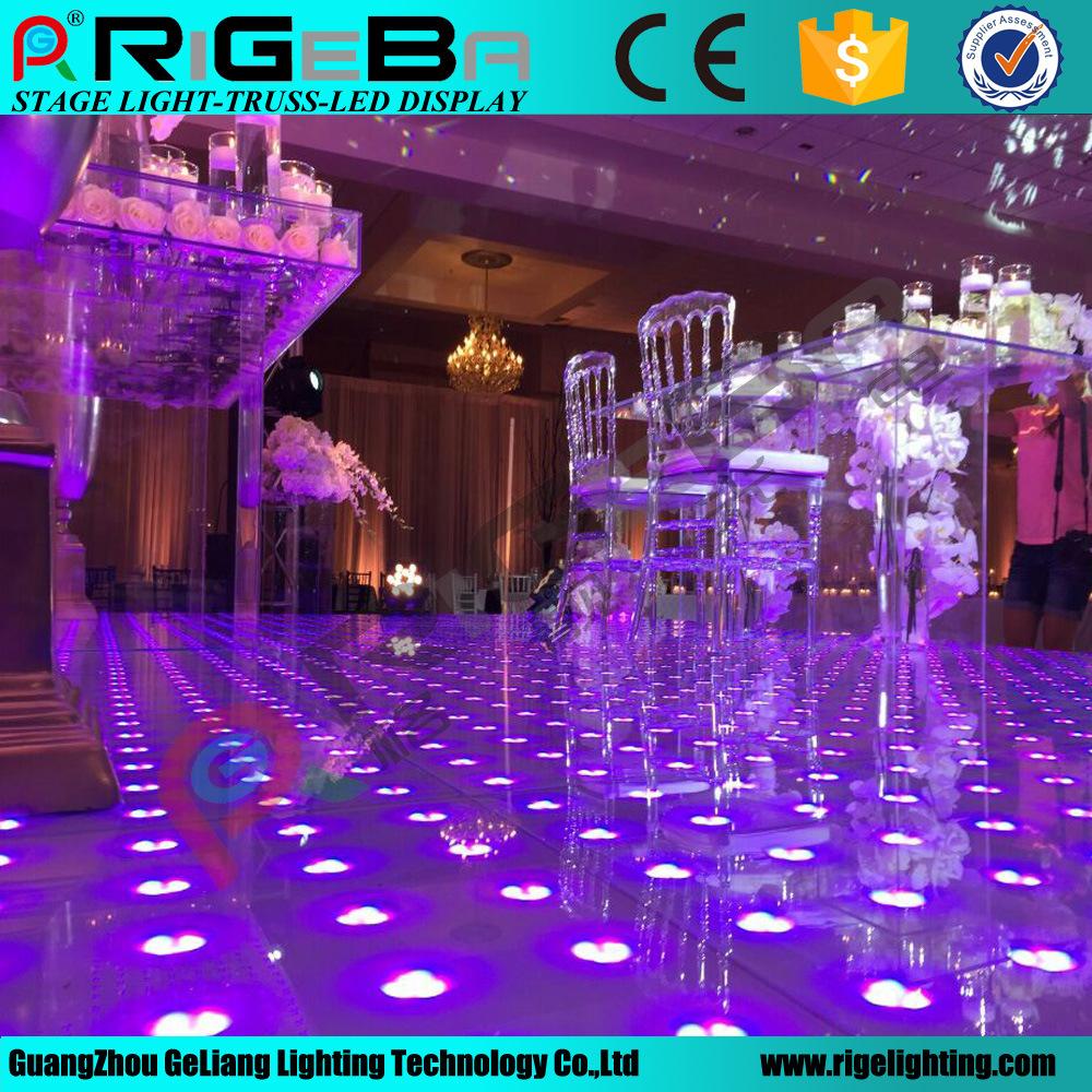 china led stage disco wedding digital dance floor light photos