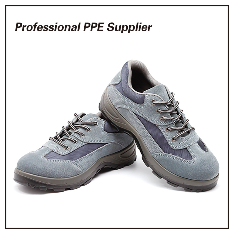 Genuine Leather Cheap Work Safety Shoes