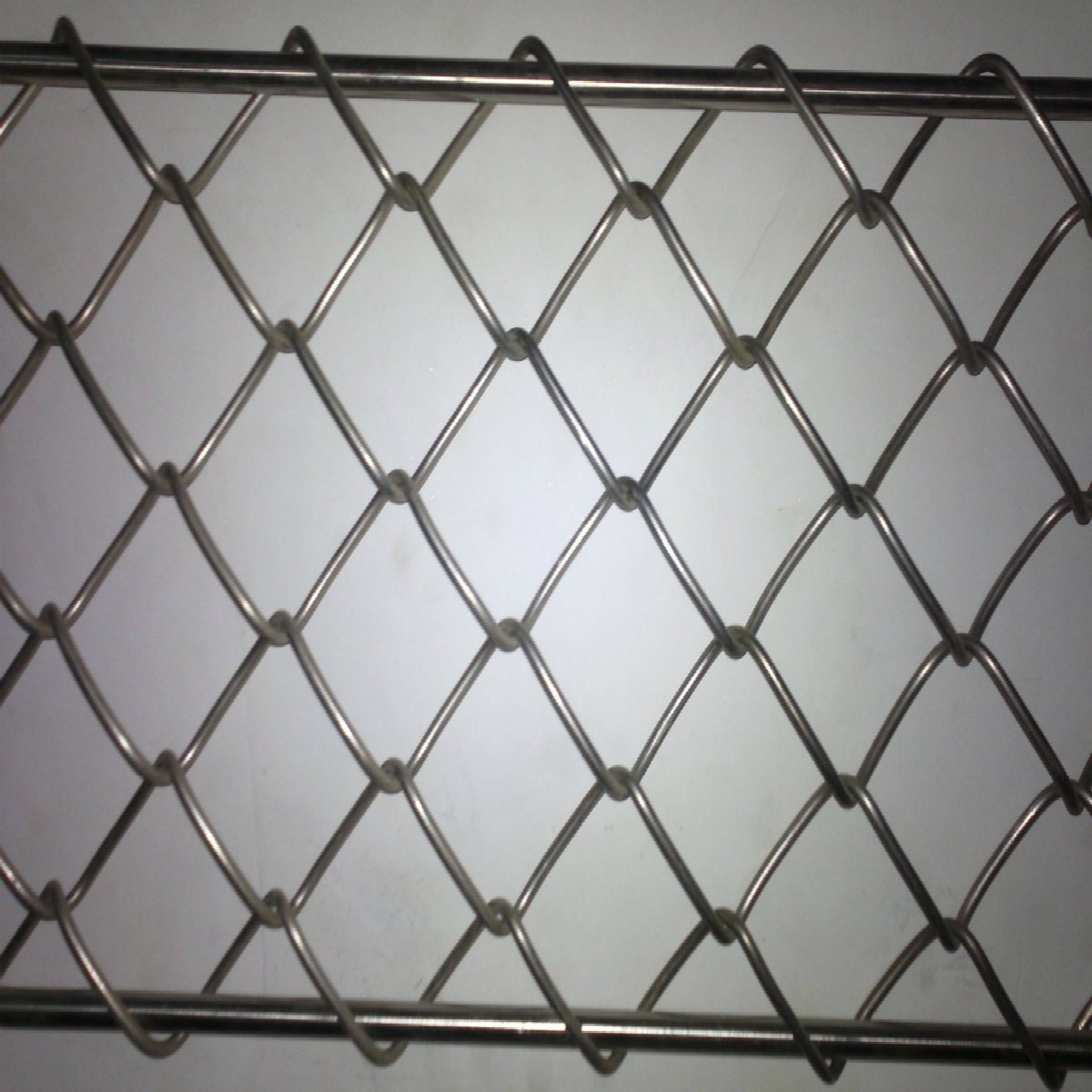 China PVC Coated Stainless Steel Chain Link Rhombic Mesh - China ...