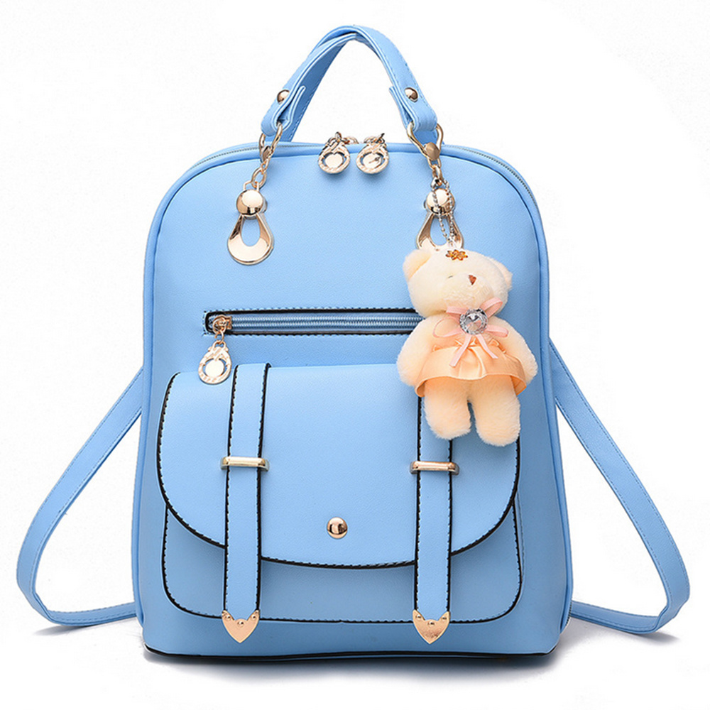 China Trendy Stylish Cute Girls School Backpack Bag with High ... 8198120eb27a4